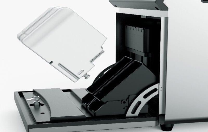 Codeersysteem CM 750 vervangen inkt