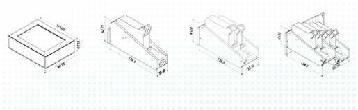 Codeersysteem CM 300 tekening