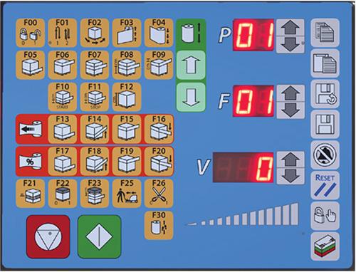 Robotwikkelaar CSM 213 display