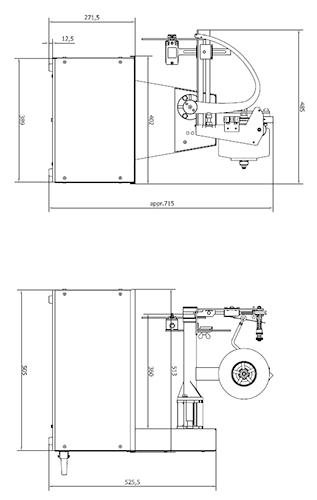 Elastiekbinder MD35 afmetingen